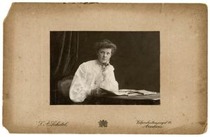Portret van Johanna Judith Dibbits (1887-1968)