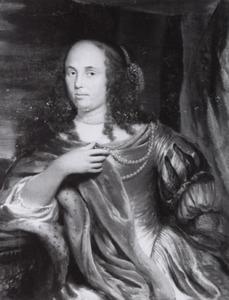 Portret van Mondina van Beveren (1622-1652)