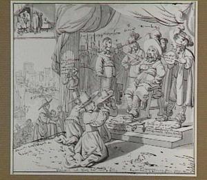 Satire op het bewind van Cromwell