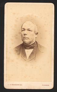 Portret van Frederik van denHam (1820-1902)