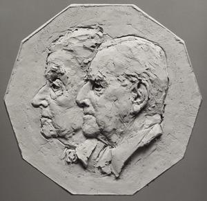 Dubbelportret van Louis Rudolph Jules van Rappard (1906-....) en Elisabeth van Hardenbroek van Lockhorst (1909-....)