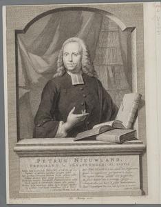 Portret van Petrus Nieuwland (1722-1795)