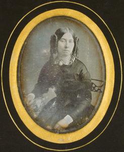 Portret van Matilda Amelie Lambert (1827-1855)