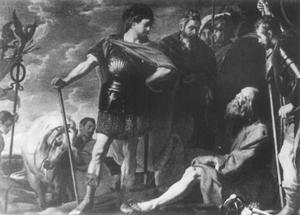 Het bezoek van Alexander de Grote aan Diogenes