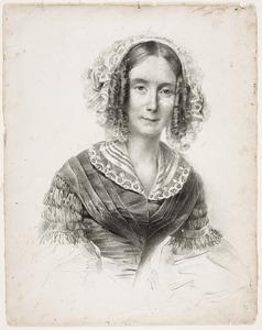 Portret van Anna Digna de Beaufort (1802-1853)