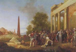 Christus en de hoofdman van Kafarnaüm