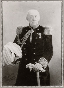 Portret van Gualtherus Holtius (1826-1910)