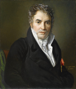 Portret van de schilder Jacques Louis David (1748-1825)