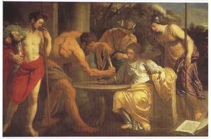 Labore et Constantia: allegorische voorstelling op het leven van de kunstschilder