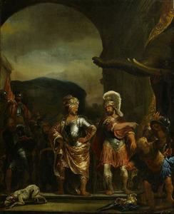 De onverschrokkenheid van Fabritius in Pyrrhus' legerkamp