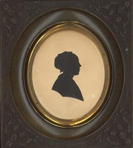 Portret van Geertruida Elisabeth Schröder (1810-1853)