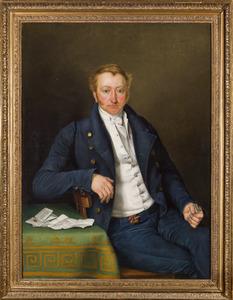 Portret van Jan Carel baron van Goltstein (1794-1872)