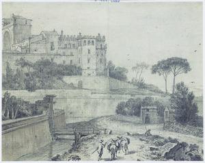 Het Belvedere te Rome