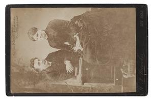 Portret van Carel Christiaan Johan Thämer (1852-1934) en Maria Johanna Gosselaar (1853-1919)