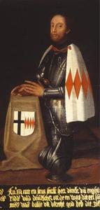 Portret van Dirk van Enghuizen