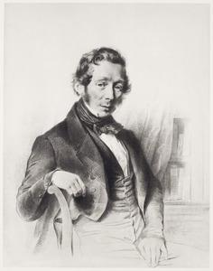 Portret van Johannes Deodatus Waller (1807-1849)