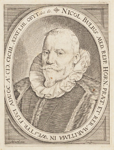 Portret van Nicolaas Bulius (1550-1615)