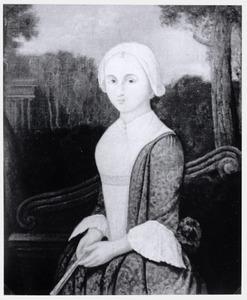 Portret van Eva de Kaarsgieter (1711-1783)