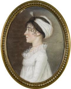Portret van Maria Regina von Strauwitz (?-1845)