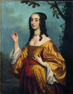 Portret van Louise Hollandise Pfalz-Grävin bei Rhein (1622-1709)