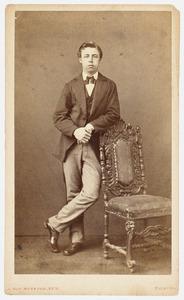 Portret van Johan Philip Schultz van Haegen (1852- )