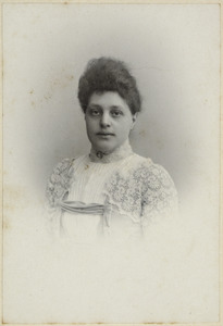 Portret van Marie Charlotte van Dam van Brakel (1872-1905)