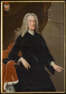 Portret van Gerrit Jurrien Schimmelpenninck van der Oye (1669-1753)