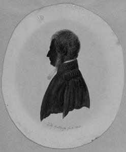 Portret van Daniel Chantepie de la Saussaye (1818-1874)