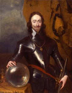 Portret van Karel I Stuarrt (1600–1649), koning van Engeland