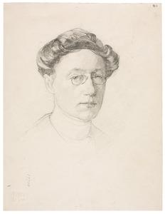 Zelfportret van Elsa Louisa Hermelina van Doesburgh (1875-1957)