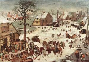 De volkstelling te Bethlehem
