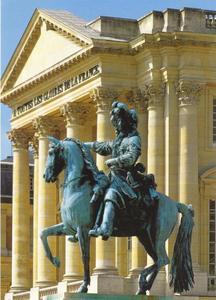 Lodewijk XIV voor zijn Paleis van Versailles