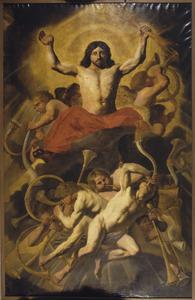 Christus als rechter tijdens het Laatste oordeel