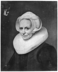 Portret van Elisabeth (Lijsbeth) Jan Apersz. van Melisdijck (1563-1640/1645)