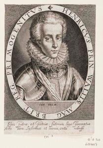 Portret van Henry Frederick Stuart, Prins of Wales (1594-1612)