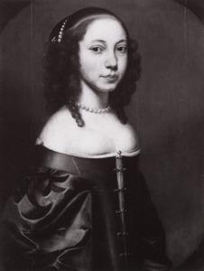 Portret van Antonia van Wijnbergen