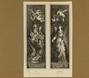 De heilige Eligius en de heilige Catharina van Alexandrië
