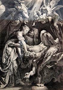 Judith onthoofdt Holofernes (Judit 10-13)