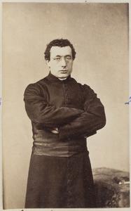 Portret van een man, waarschijnlijk Adrianus van der Geest (1838-...)
