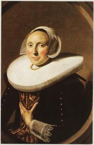 Portret van mogelijk Maria Larp ( -1675)