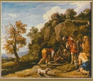 Jozef wordt door zijn broers in de put geworpen (Genesis 37: 24)