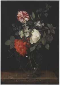 Een vaas bloemen