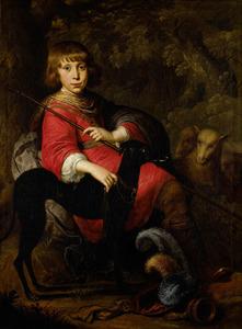 Portret van Martinus Alewijn (1634-1684)