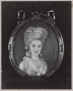 Portret van Henriette Clasina Frederica Berg (1758-1784)