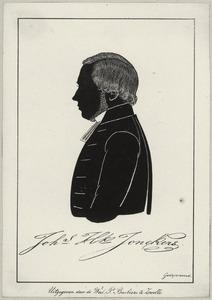 Portret van Johannes Hendrik Jonckers (1818-1900)