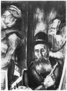 Portret van Henri Victor Gabriel Le Fauconnier (1881-1945)