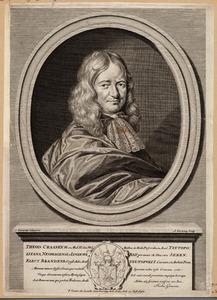 Portret van Theodorus Craanen (.... -1690)