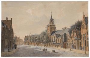 Dorpsstraat in Bodegraven
