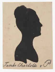 Portret van een vrouw, waarschijnlijk Charlotte Christina von Pestel (1759-1843)