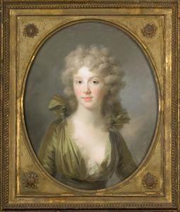Portret van Wilhelmina van Pruisen (1774-1837), later koningin der Nederlanden